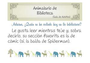 Quinto animal-Araña