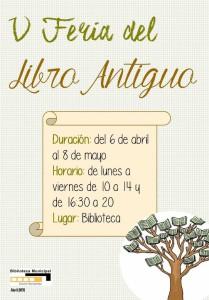 Cartel V Feria Libro